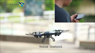 SNAPTAIN S5C WiFi FPV Drone with 720P HD Camera, Voice Control