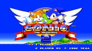 Sonic the Hedgehog 2 ::: First 15 Minutes ::: Gameplay ::: Sega Mega Drive