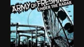 Army of Freshmen - Talk of the Town (lyrics)