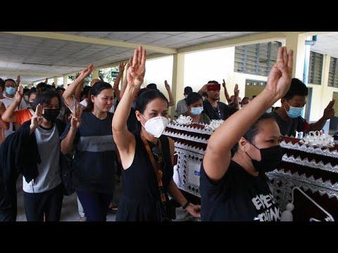 Μιανμάρ: Κηδείες θυμάτων της χούντας