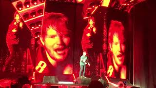 Ed Sheeran You Need Me, I Don't Need You live at the Linc 9.27.18 Philly