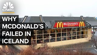 Why McDonald's Failed In Iceland