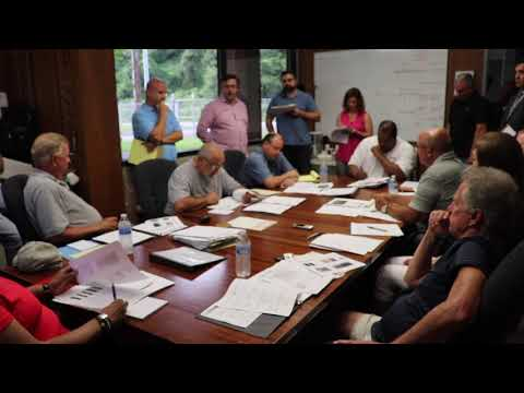 Mon Valley Sewage Monthly Meeting 08-12-2019