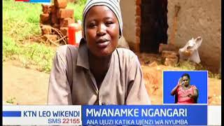 MWANAMKE NGANGARI: Gwiji wa kujenga nyumba huko Voi, Taita Taveta