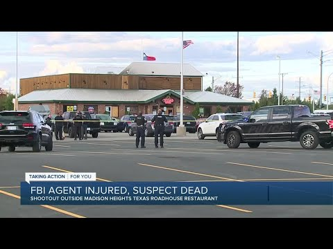 One person dead, FBI agent shot at Texas Roadhouse in Madison Heights