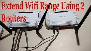 Extend your WiFi range with WiFi repeater setup|use an old router as a range extender Free Knowledge