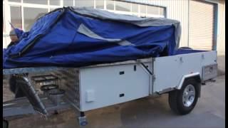 preview picture of video 'Forward folding camper trailer'