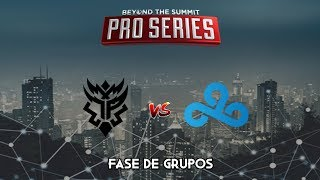 THUNDER PREDATOR vs CLOUD 9 - BTS Pro Series América