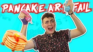 PANCAKE ART CHALLENGE!!! The Best Pancake Art In The World !!!