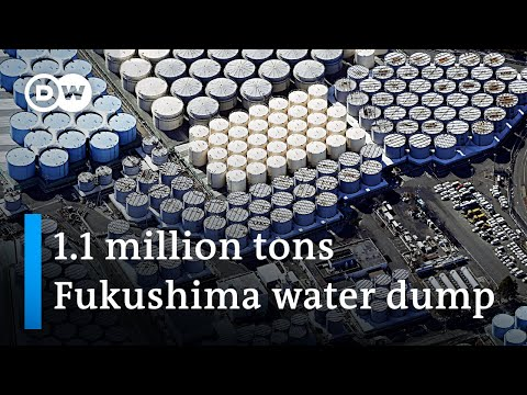 Fukushima radioactive waste water to be dumped into the sea | DW News
