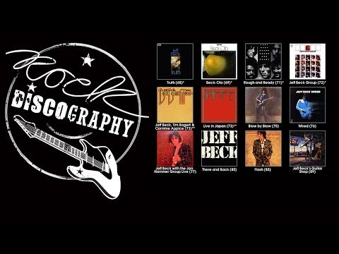 Jeff Beck (Animated Discography)