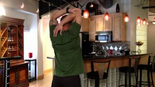 Tricep Stretch for the Total Trainer Home Gym