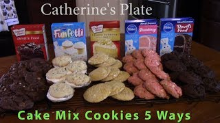 recipes using boxed white cake mix