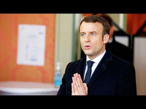 Γαλλία – COVID-19: Περιορισμούς στην κυκλοφορία ανακοίνωσε ο Μακρόν…