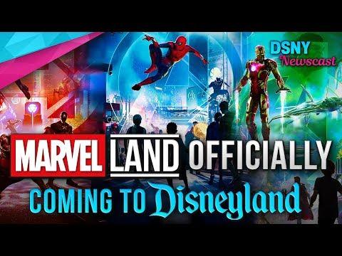 Marvel Land Officially Announced For Disneyland Resort