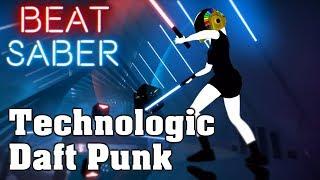 Beat Saber - Technologic - Daft Punk (custom song) | FC