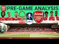 FA CUP TIME!!! Nottingham Forest vs Arsenal Pre-game Analysis | Match Preview | Emirates FA Cup