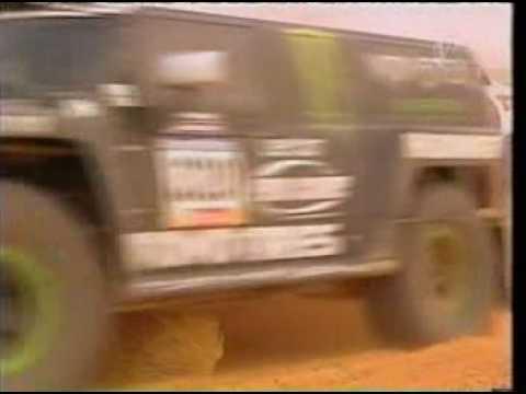 7 litrowy potwór  Robby Gordona na rajdzie Dakar