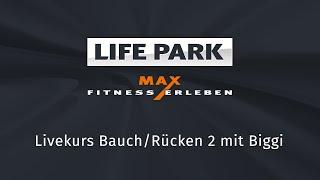 Bauch/Rücken 2 mit Biggi (Livemitschnitt vom 9. April 2020)