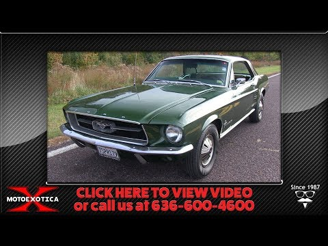 Video of Classic 1967 Ford Mustang located in Missouri - OWD0