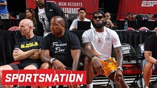 Do you believe LeBron when he says this isn't rebuilding year for Lakers?   SportsNation   ESPN