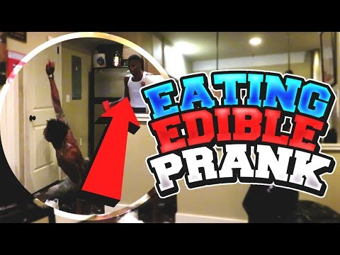 EATTING EDIBLE PRANK ON FUNNYMIKE FT KING FROM NIQUE & KING