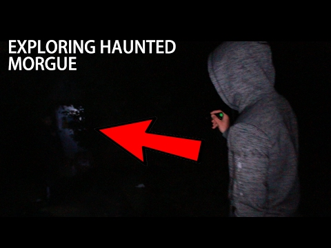 Exploring HAUNTED MORGUE (dead bodies were kept here)