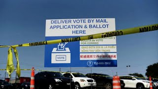 Texas governor shuts down mail ballot drop-off sites