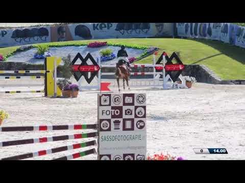 Gilles Nuytens & Kamirez van Orchid's CSIOP Grand Prix Jump Off 1st Pl