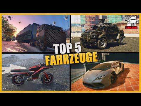TOP 5 FAHRZEUGE DIE DU KAUFEN MUSST IN GTA 5 ONLINE !!! - TacTixGaming