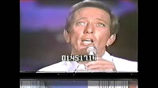 """ANDY WILLIAMS """"WHAT NOW MY LOVE""""  1970"""