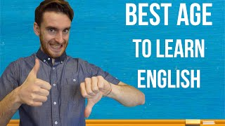BEST AGE TO LEARN A SECOND LANGUAGE | When to learn English??? | 4k