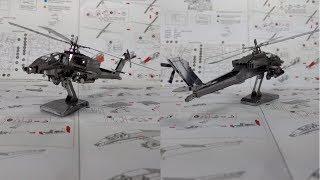 Metal Earth Build - Apache AH-64