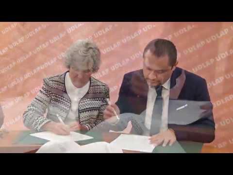 Signan convenio SGG y UDLAP en apoyo a comunidad migrante