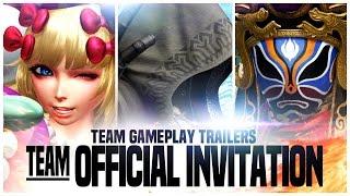 """KOF XIV - Team Gameplay Trailer #7 """"OFFICIAL INVITATION"""""""
