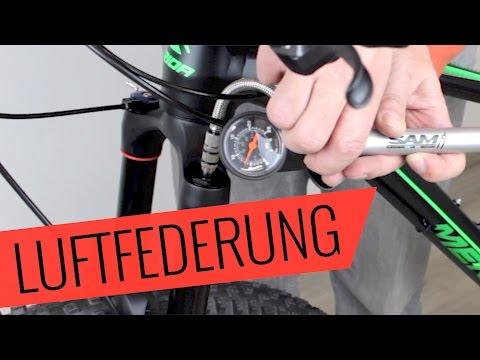 Fahrrad Luftfederung einstellen - Fahrrad.org