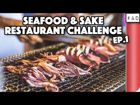 Výzva v Japonsku – Mořské plody a saké 1