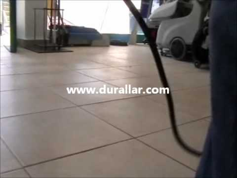 Durclean 521 cila makinası zemin parlatma