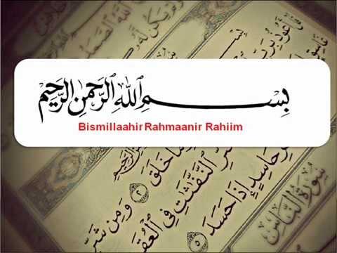 Surah Al Falaq Latin Dan Terjemahan Indonesia