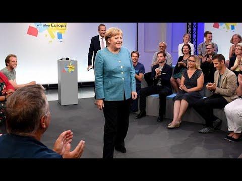 Ανοιχτός διάλογος της Μέρκελ με πολίτες