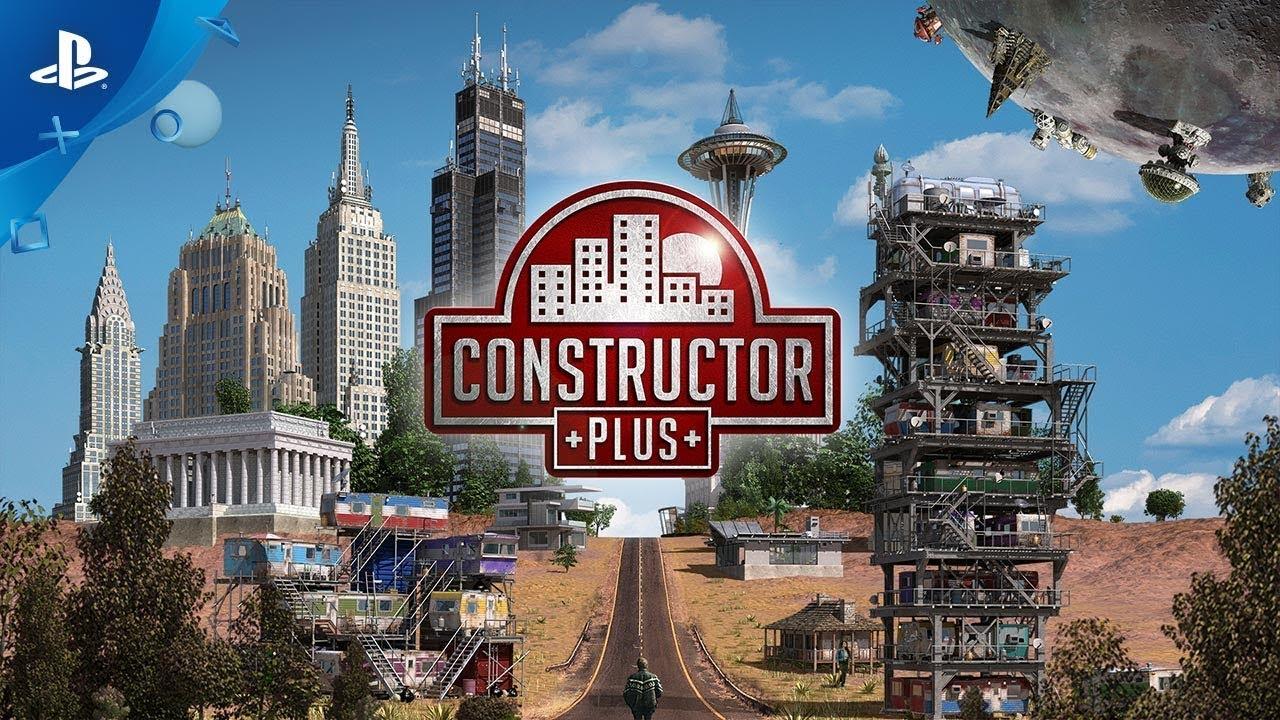 Costruite nuove città in tutta la galassia nella simulazione strategica Constructor Plus, disponibile questa settimana su PS4