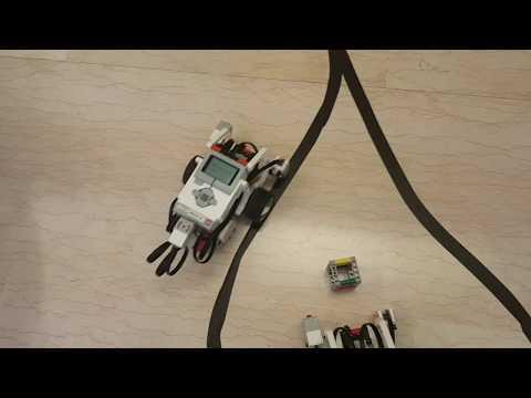 Line Follower (inseguitore di linea) con il robot Lego Mindstorm