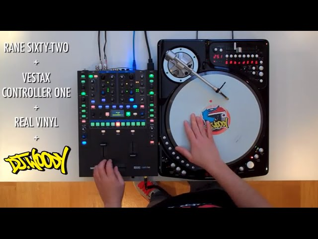 DJ Woody - Vestax Controller One + Rane SIXTY TWO