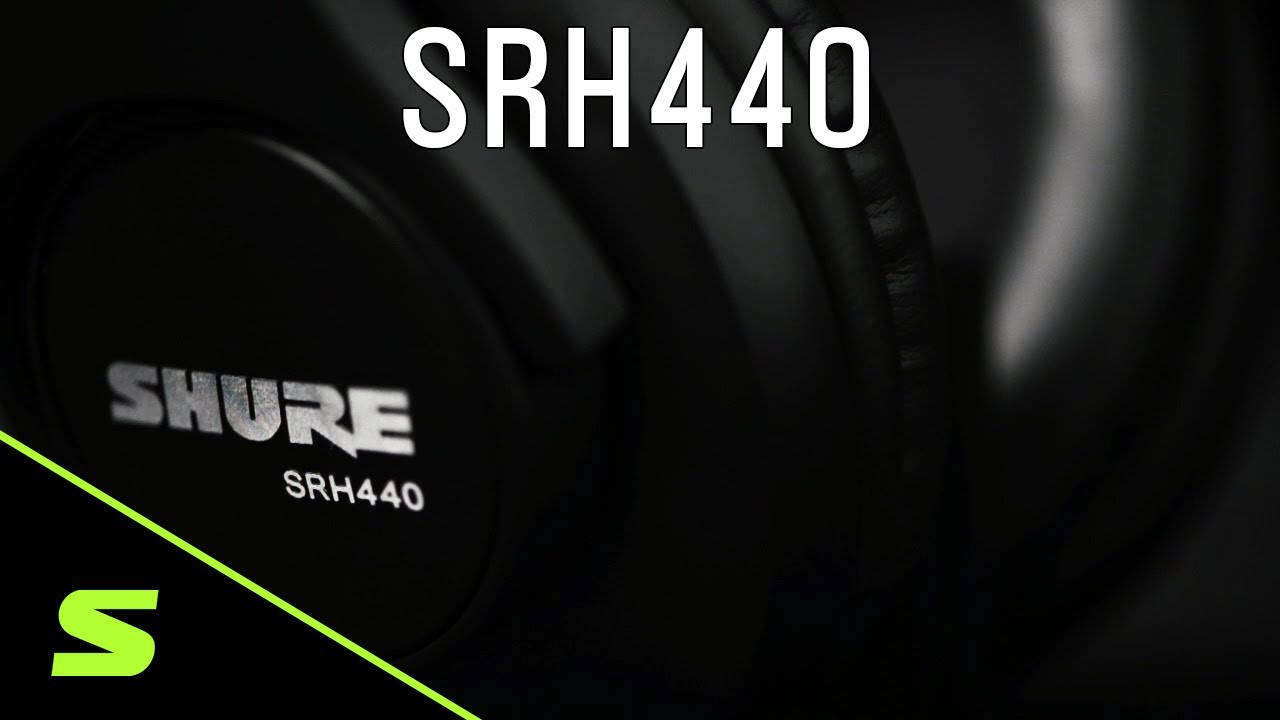 Shure Headphones: SRH440