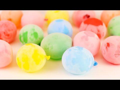 7 mẹo cực hay và sáng tạo với bong bóng