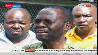 Kisumu Governor elect Anyang Nyong'o appeals to the angry Youths in Kisumu not to destroy property