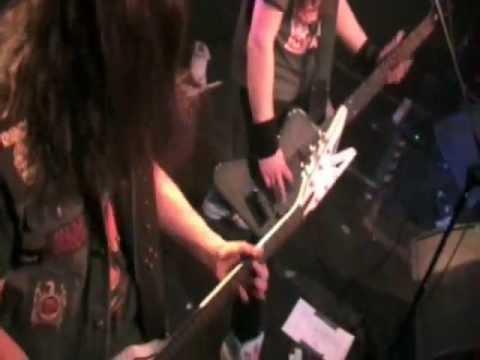 Rusted Brain - Caught in Fire  (live Progresja 28.01.2012)