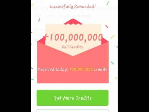 Video how to get unlimited credits in whatscall