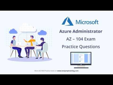 Azure Administrator   AZ 104 Practice Questions   Exam Preparation ...