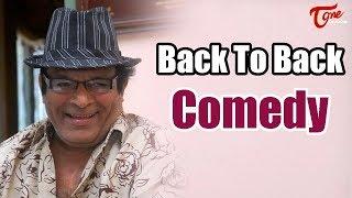Nutan Prasad Back To Back Comedy Scenes - TeluguOne